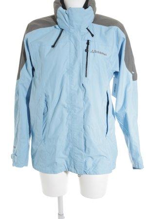 Schöffel Übergangsjacke kornblumenblau-grau Casual-Look