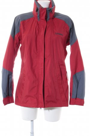 Schöffel Windbreaker grey-red athletic style
