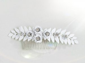 Asos Hair Accessory white-silver-colored