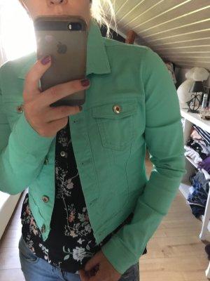 Schön Jeansjacke in mint