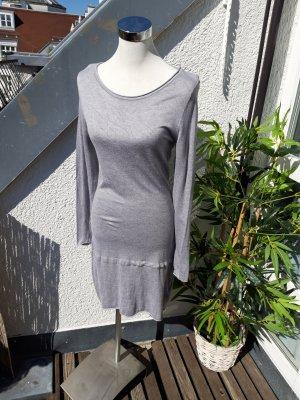 Hallhuber Sweaterjurk lichtgrijs