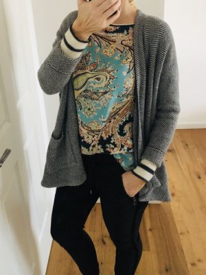 100 Knitted Cardigan multicolored