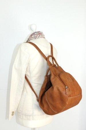 Schöne 5 in 1 Tasche - Made in Italy - Aus weiches natur Leder... NEU
