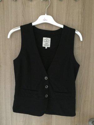 Schöne ärmellose Weste in der Farbe schwarz von Der Marke Tom Tailor