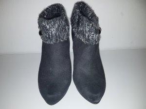 Graceland Ankle Boots black-grey