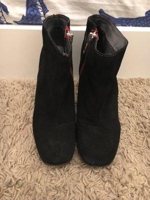 Bullboxer Korte laarzen zwart-rood