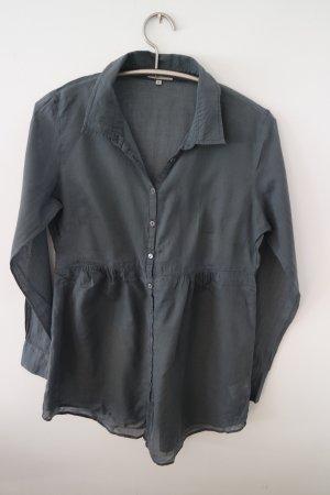 Schöne anthrazitfarbene lange Bluse, Tunika von Geddes and Gillmore