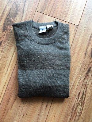 Schöne Armani Pullover M Grau
