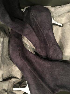 Armani Stretch laarzen zwart Synthetische vezel