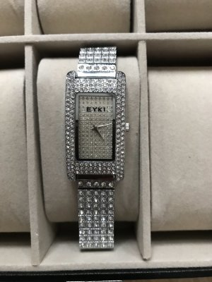 Self-Winding Watch silver-colored-white