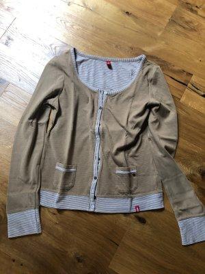 edc Sweat Jacket white-light brown