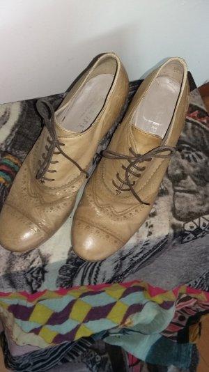 schöne beige Schuhe Gr.39,5