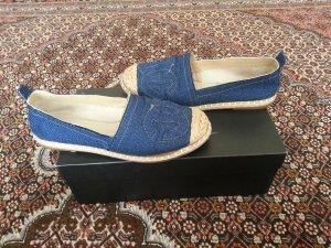 Espadrille Sandals blue-dark blue