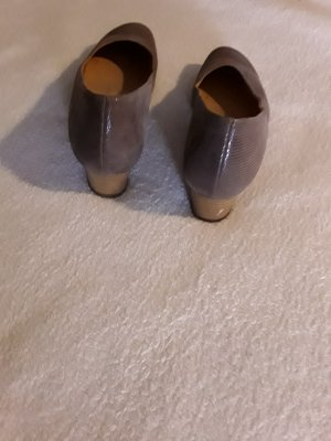 Theresia m. Wedge Pumps bronze-colored-grey brown leather