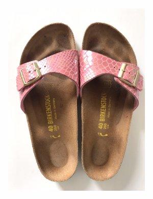 Birkenstock Strapped Sandals gold-colored-rose-gold-coloured
