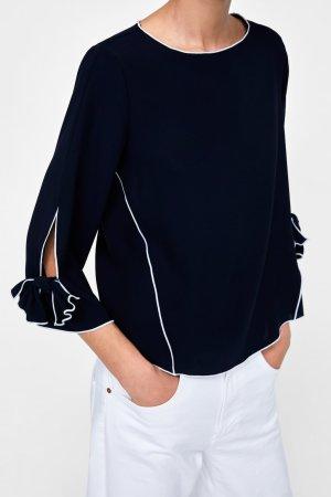 Schöne blaue Bluse von Zara Gr M ungetragen