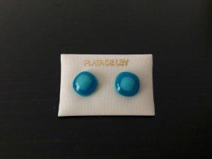 Schöne blaue Ohrringe