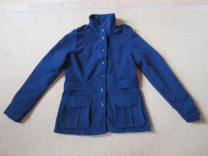 b.p.c. Bonprix Collection Short Jacket blue mixture fibre