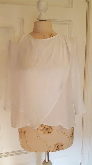 schöne Bluse asymmetrisch Überschlag
