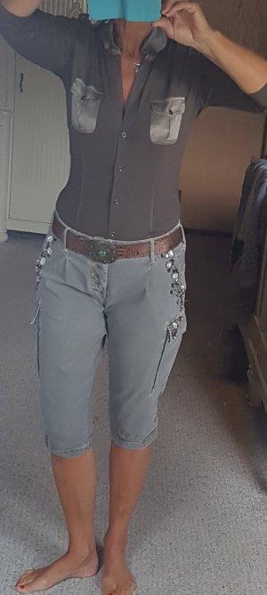 Schöne Bluse aus Seidenjersey von Marc Cain Größe 38