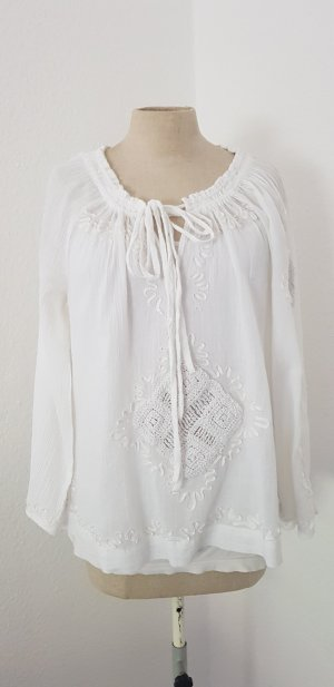 Cynthia Rowley Slip-over blouse wit