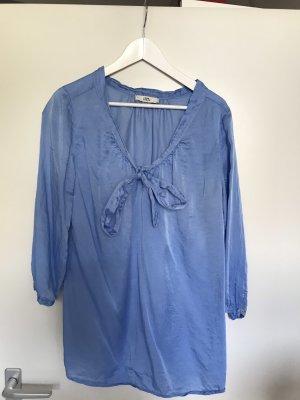 0039 Italy Blouse à manches longues bleu clair