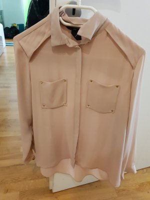 Blouse Collar rose-gold-coloured-nude