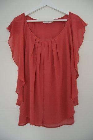 Schöne Bluse in Coral von Rosette By Be Cool, Gr. M