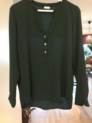 Schöne Bluse in Dunkelgrün