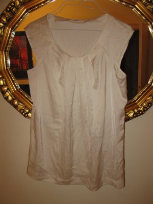 Schöne Bluse in Elfenbein (Ivory), Marks and Spencer,