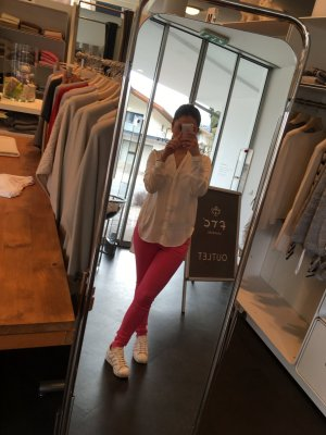 H&M Blusa de túnica blanco puro