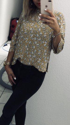 Blusa tipo body naranja dorado