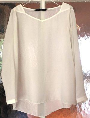Schöne Bluse in Weiß von Zara