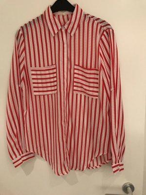 Schöne Bluse, leicht transparent, Y'coo, Gr L