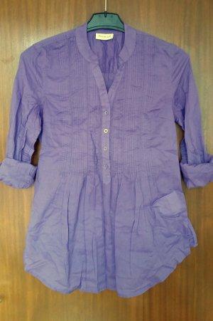 schöne Bluse, Long-Bluse, Blusenkleid in Gr. 34 von Yessica 100% Baumwolle