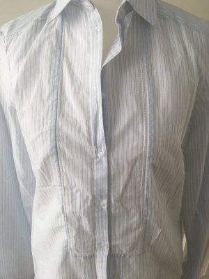 Massimo Dutti Camicetta a blusa bianco-azzurro