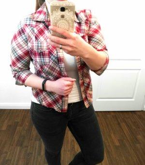 Schöne Bluse mit Karo Muster