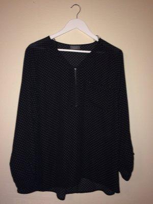 schöne Bluse mit modischem Muster - ungetragen - angenehmer Stoff