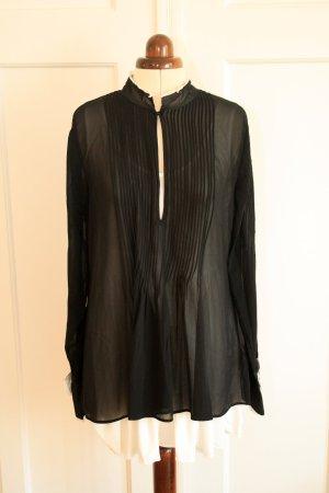 Schöne Bluse mit vielen Details von H&M Studio Gr. 40