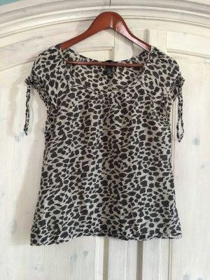 Schöne Bluse Tunika von H&M mit Seidenanteil