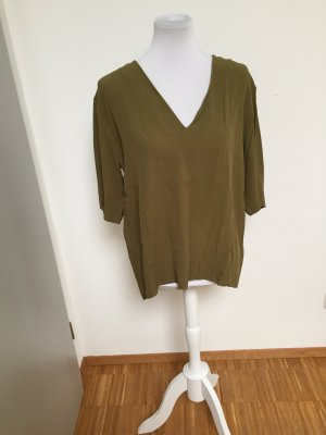 schöne Bluse von And Other Stories in Khaki