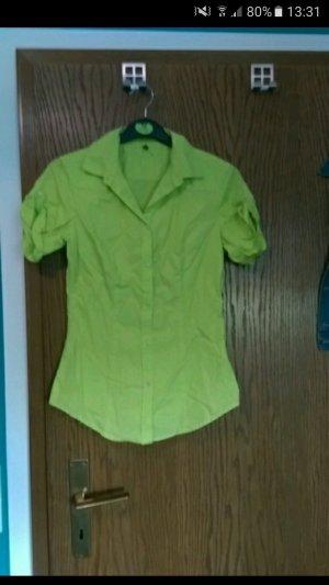 Benetton Mouwloze blouse lichtgroen
