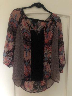 Cynthia Rowley Long Sleeve Blouse multicolored
