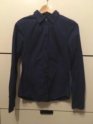 schöne Bluse von Esprit dunkelblau Gr. S