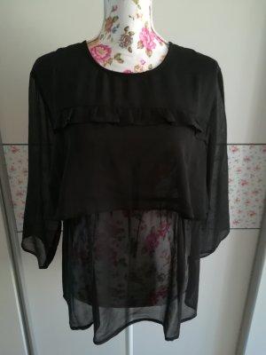 Schöne Bluse von Ichi mit Volants