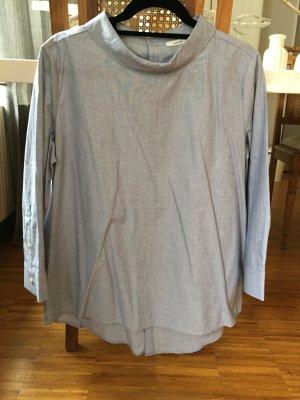 Schöne Bluse von OPUS mit ausgefallenen Kragen, Gr 40