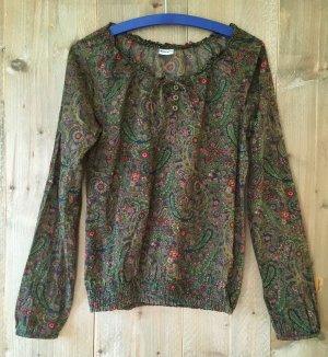 Tamaris Long Sleeve Blouse multicolored cotton