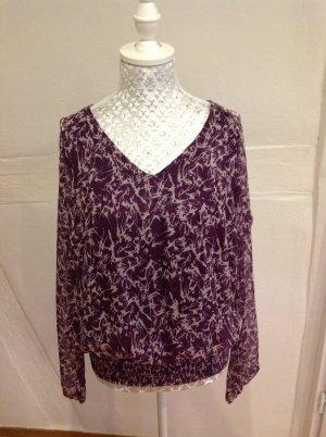 Schöne Bluse von Vero Moda Gr. M lila/rosa