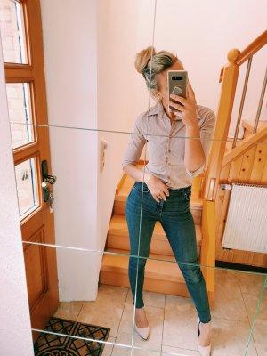 Schöne Bluse von Zara mit Streifen