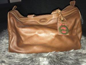 Longchamp Borsa da bowling cognac